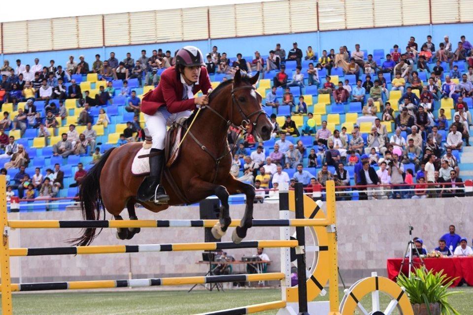 145 فارسا في منافسات بطولة وحدة صنعاء الثانية للفروسية