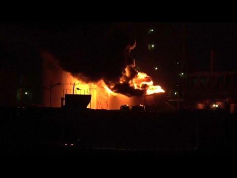 انفجار قرب مبنى المجلس المحلي لمديرية الشيخ عثمان في عدن