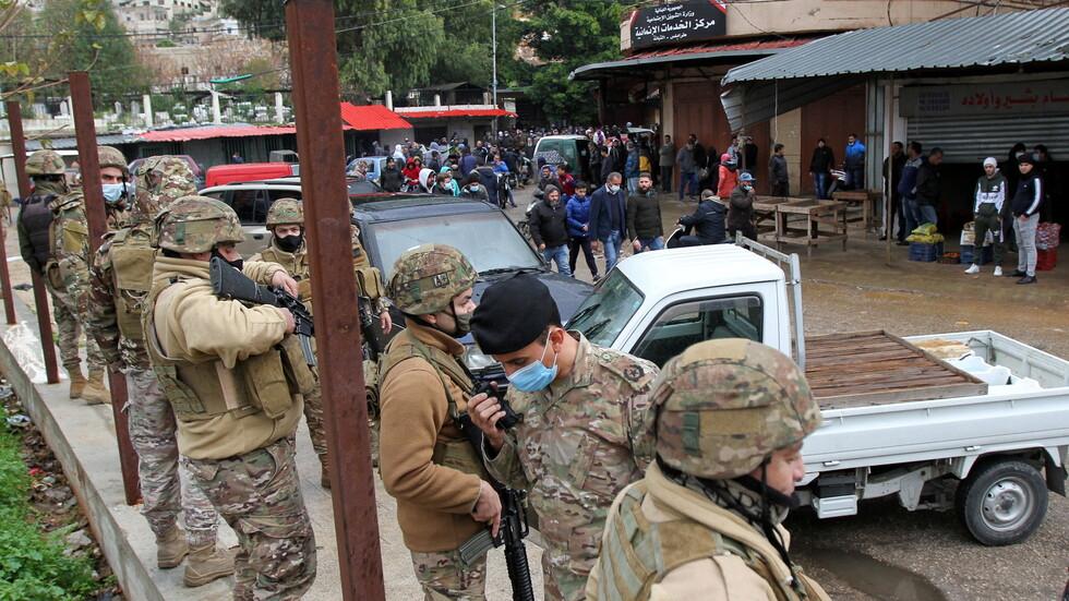 الجيش اللبناني يعلن توقيف 5 أشخاص على خلفية أحداث طرابلس