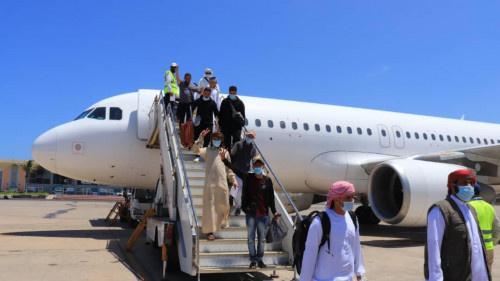 """""""فلاي سكاي"""" اول شركة طيران تجارية غير وطنية تدشن اول رحلة لها من دبي الى عدن"""
