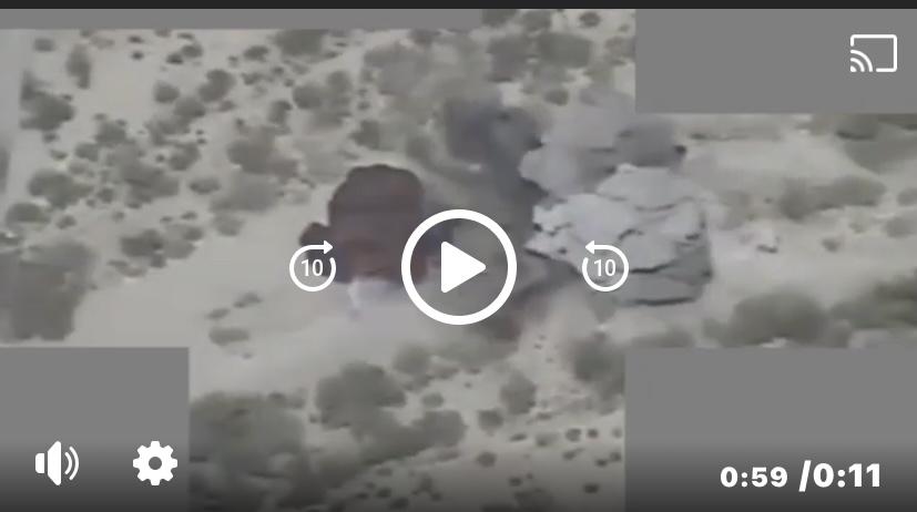 شاهد.. مدفعية الجيش تدك مواقع وتجمعات المليشيات الإنقلابية جنوبي مارب
