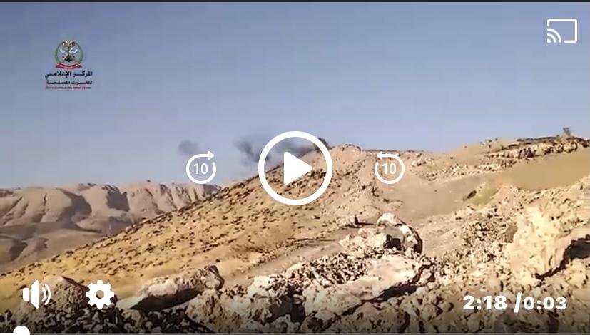 شاهد.. لحظة اقتحام ابطال الجيش الوطني لمواقع الميليشيات الحوثية غربي مأرب