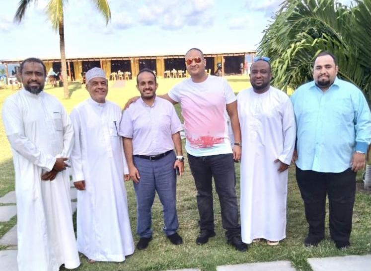 العواضي يثني على جهود الإتحاد العربي الكيني في خدمة ابناء الجالية اليمنية